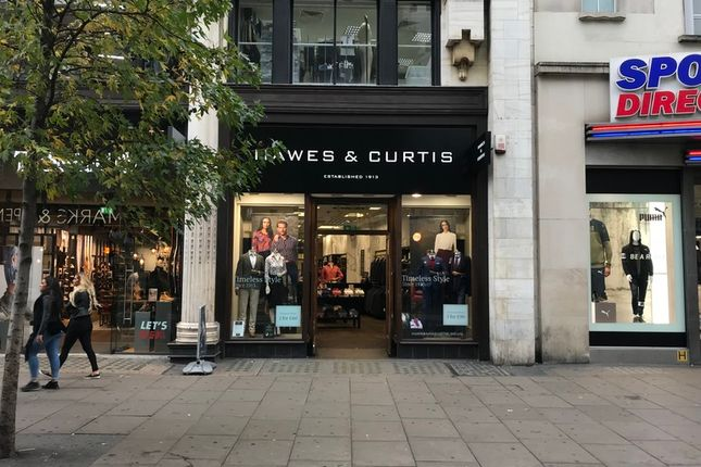 Thumbnail Retail premises to let in Oxford Street, London, United Kingdom