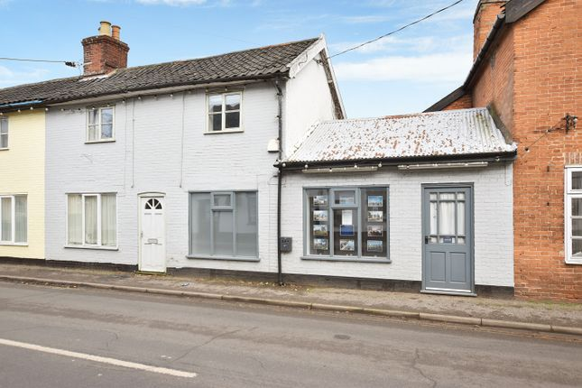 Thumbnail Terraced house for sale in Market Street, East Harling