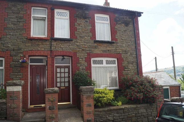 Thumbnail Semi-detached house for sale in Aberffrwd Road, Mountain Ash