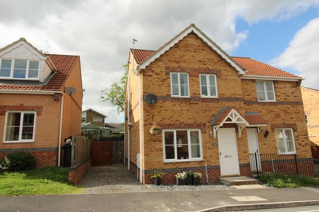 Thumbnail Semi-detached house to rent in Dickens Way, Crook