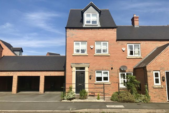 Thumbnail Town house for sale in Isherwoods Way, Wem, Shropshire