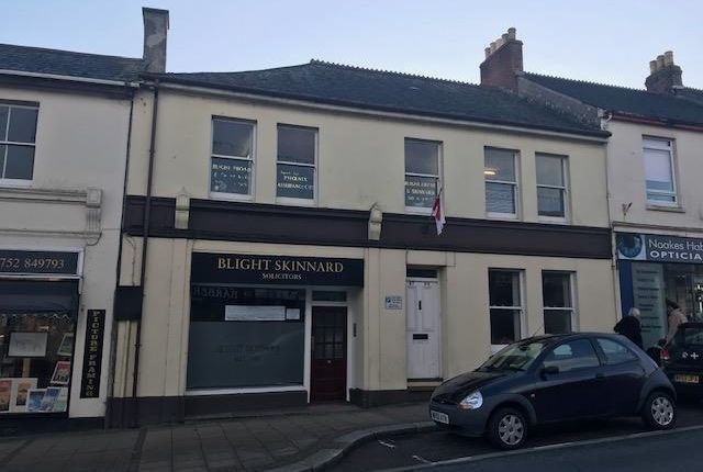 Thumbnail Office for sale in 97-99 Fore Street, Saltash, Cornwall