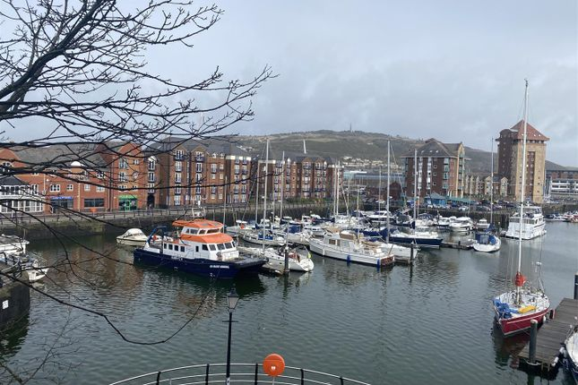 1 bed flat for sale in Abernethy Square, Maritime Quarter, Swansea SA1