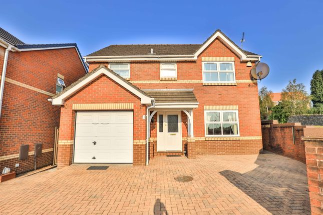 Thumbnail Detached house for sale in Heol Peredur, Thornhill, Cardiff