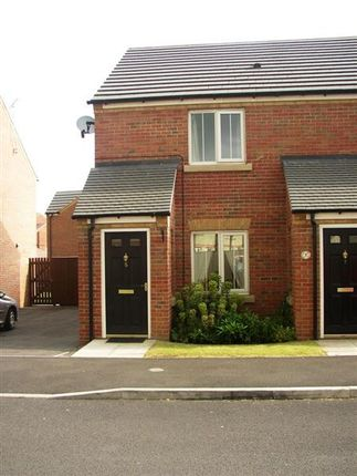 Thumbnail End terrace house to rent in Oakwell Close, Scunthorpe