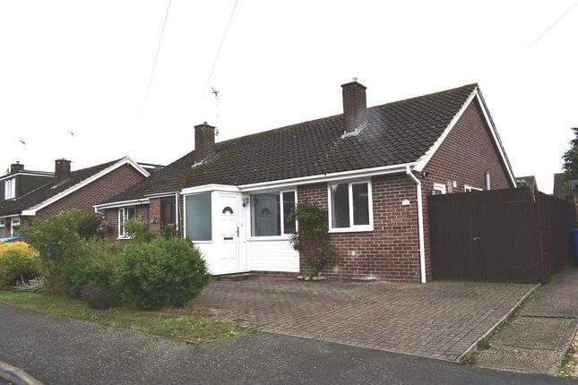 Thumbnail Bungalow to rent in Priory Crescent, Roade