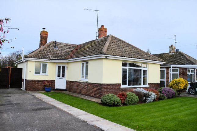 Thumbnail Detached bungalow for sale in St. Peters Close, West Lynn, King's Lynn