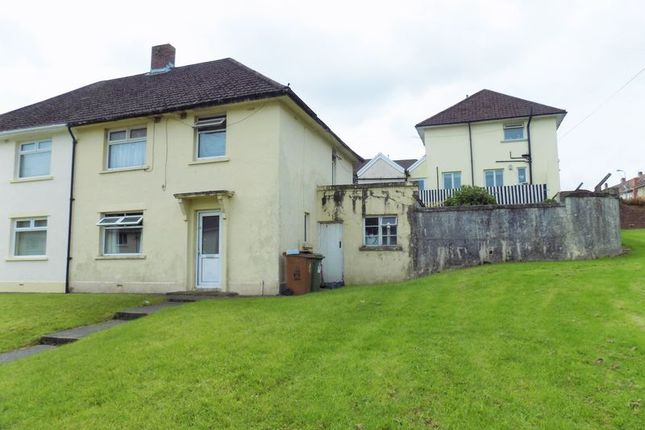 Thumbnail Semi-detached house for sale in Heol-Y-Nant, Caerphilly