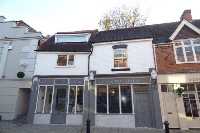 Thumbnail Flat to rent in Above Worcester Road, Bromsgrove