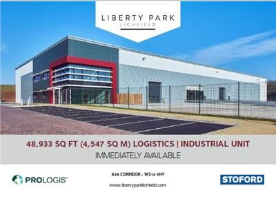 Thumbnail Warehouse to let in Liberty Park, A38, Lichfield, Staffordshire