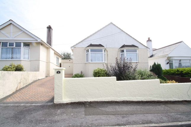 Thumbnail Detached bungalow for sale in Gower Ridge Road, Plymstock, Plymouth, Devon
