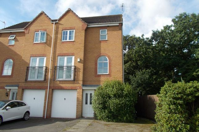 Thumbnail Terraced house to rent in Goodheart Way, Thorpe Astley