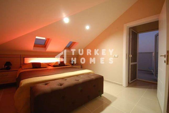 Spacious Detached Belek Golf Villa - Attic Bedroom With Rooftop Terrace Access
