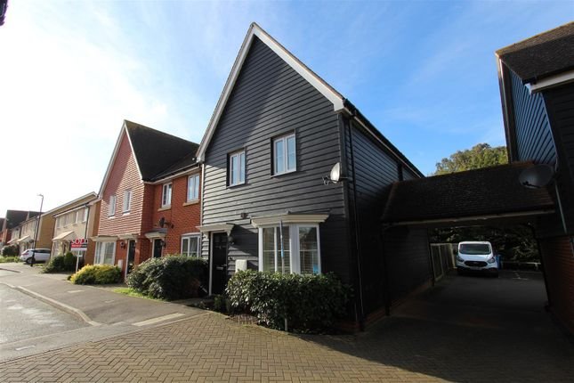 Thumbnail End terrace house for sale in Primrose Avenue, Sittingbourne