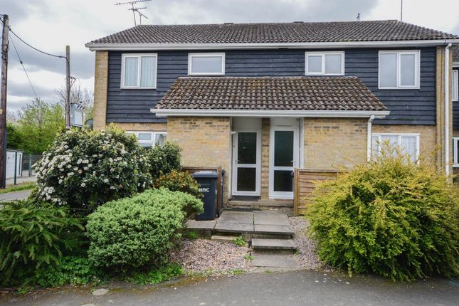 2 bed flat to rent in Elm Road, Folksworth, Peterborough