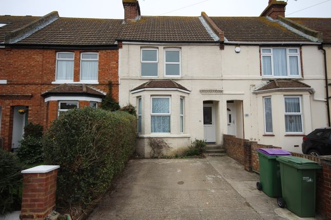 Thumbnail Terraced house to rent in Shaftesbury Avenue, Folkestone