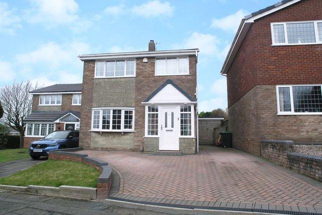 Thumbnail Detached house for sale in Tividale, Oakham, Hoylake Drive