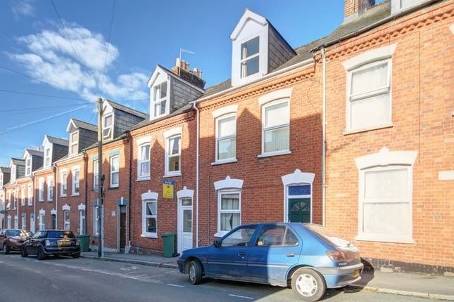 Thumbnail Terraced house to rent in Portland Street, Exeter