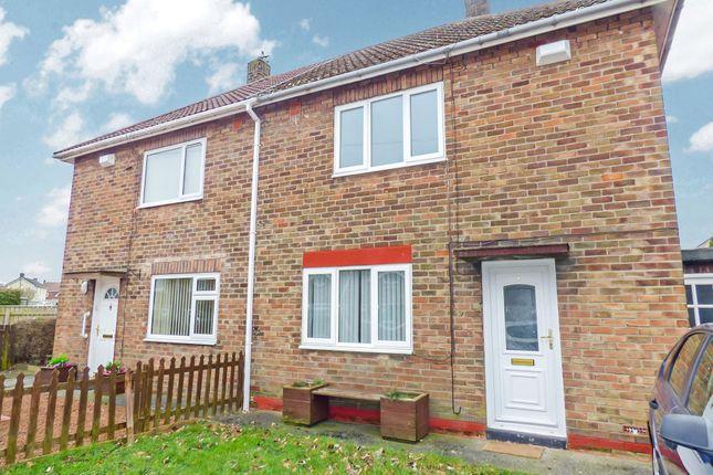 2 bed semi-detached house for sale in Warnhead Road, Bedlington NE22