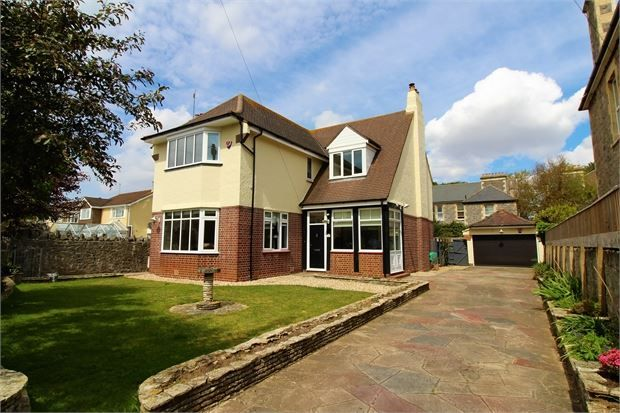 Thumbnail Detached house for sale in Quantock Road, Weston-Super-Mare, North Somerset.
