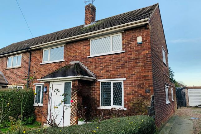 Thumbnail Semi-detached house to rent in Healey Road, Scunthorpe