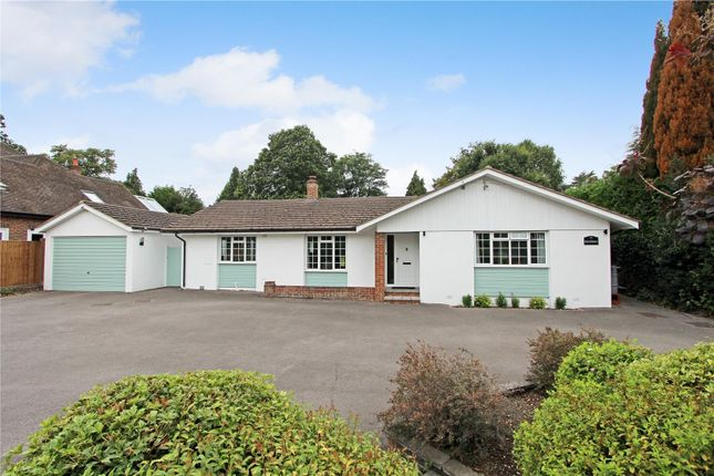 Thumbnail Detached bungalow for sale in Oakcroft Road, Pyrford, Woking