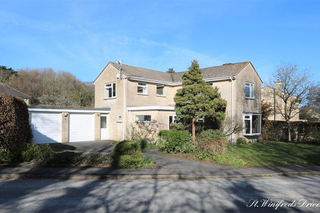 Thumbnail Detached house for sale in St. Winifreds Drive, Combe Down, Bath