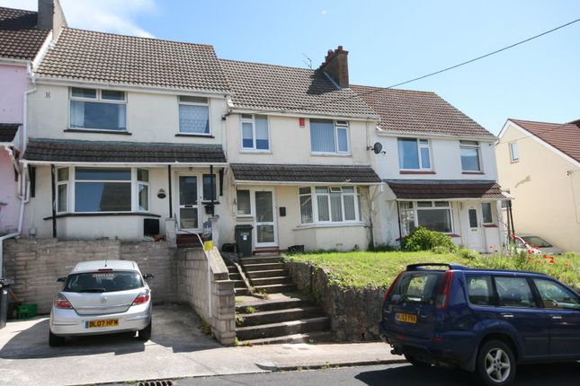 Thumbnail Terraced house to rent in Maidenway Road, Paignton, Devon