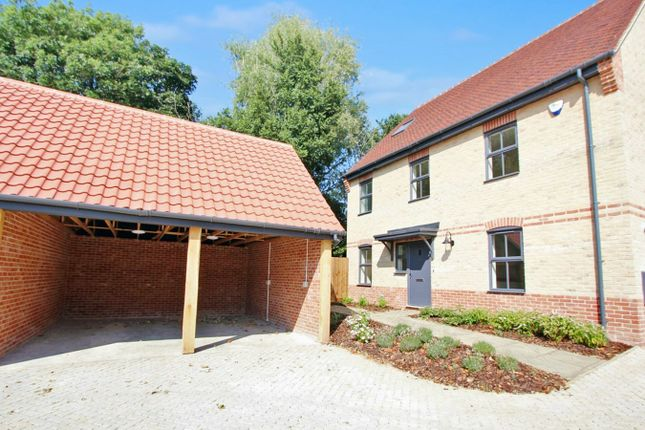 Thumbnail Detached house for sale in Lower Road, Stuntney