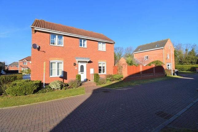 Thumbnail Detached house for sale in Lintin Close, Bratton, Telford