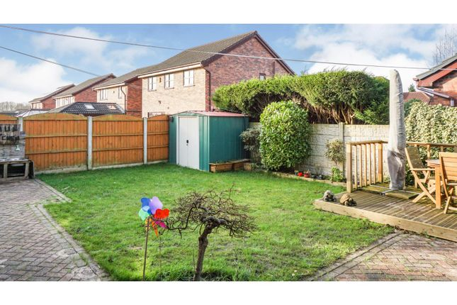 Rear Garden of Parkway, Westhoughton, Bolton BL5