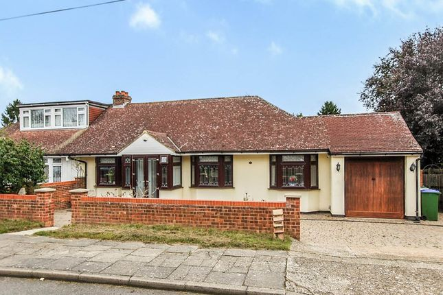 3 bed bungalow for sale in Barton Road, Sidcup, Kent DA14