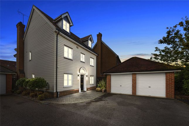 Detached house for sale in Drake Road, Chafford Hundred, Grays, Essex