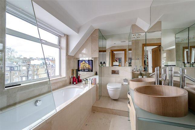 Master Bathroom of Rutland Gate, London SW7