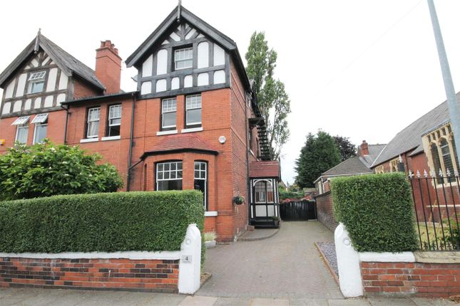 Thumbnail Semi-detached house for sale in Grange Drive, Eccles, Manchester