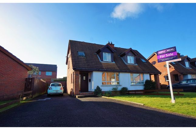 Thumbnail Semi-detached house for sale in Marlo Park, Bangor