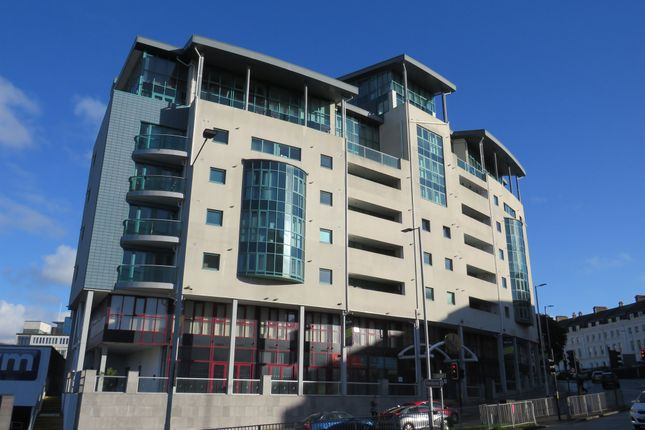 Thumbnail Flat for sale in Ocean Crescent, The Crescent, Plymouth