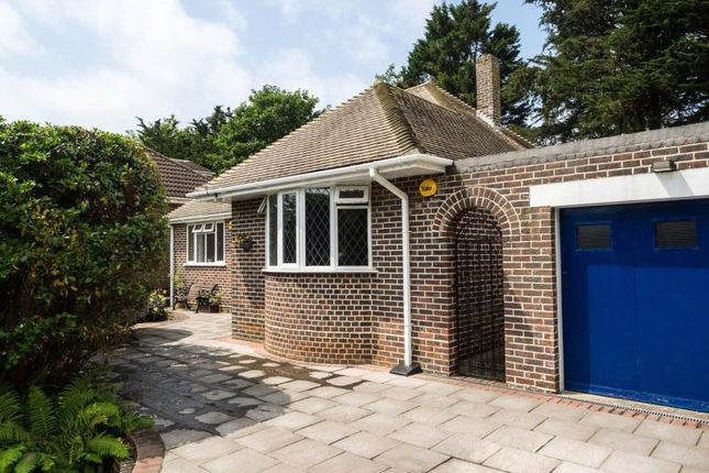 Thumbnail Detached bungalow for sale in West Way, High Salvington, Worthing
