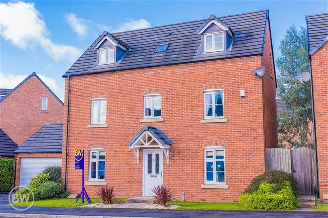 Thumbnail Detached house for sale in Gibfield Drive, Atherton, Manchester