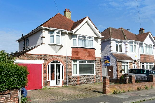 Thumbnail Detached house for sale in Beaumont Road, Broadwater, Worthing