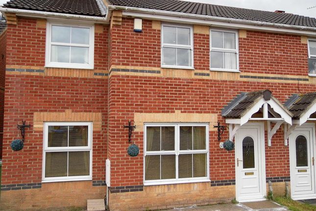 Thumbnail Semi-detached house for sale in Mayfield Walk, St. Helen Auckland, Bishop Auckland