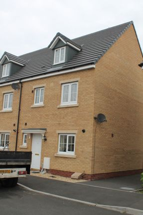 Thumbnail Semi-detached house to rent in Rhodfa'r Ceffyl, Carway, Kidwelly