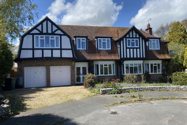 Thumbnail Detached house for sale in Howards Crescent, Bexhill-On-Sea