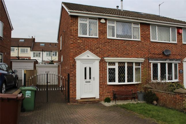 Thumbnail Semi-detached house to rent in Airedale Gardens, Rodley, Leeds