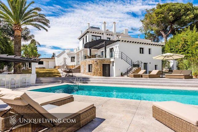6 bed villa for sale in Golden Mile, Marbella, Costa Del Sol