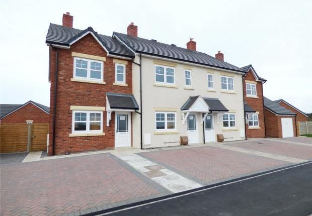 Thumbnail End terrace house for sale in Plot 16 Coniston, Harvest Park, Silloth, Wigton