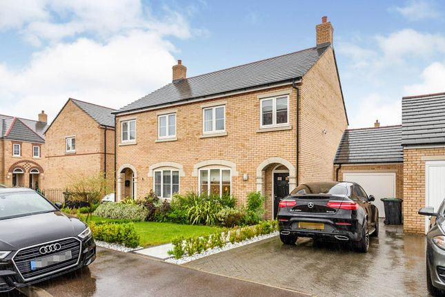 Thumbnail Semi-detached house for sale in Louise Rise, Fairfield, Hitchin