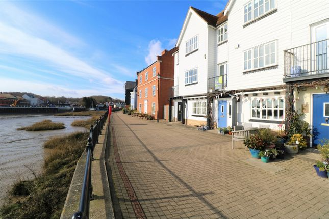 Thumbnail Town house for sale in West Quay, Wivenhoe, Essex