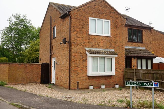 Thumbnail Semi-detached house for sale in Linden Way, Pinchbeck, Spalding