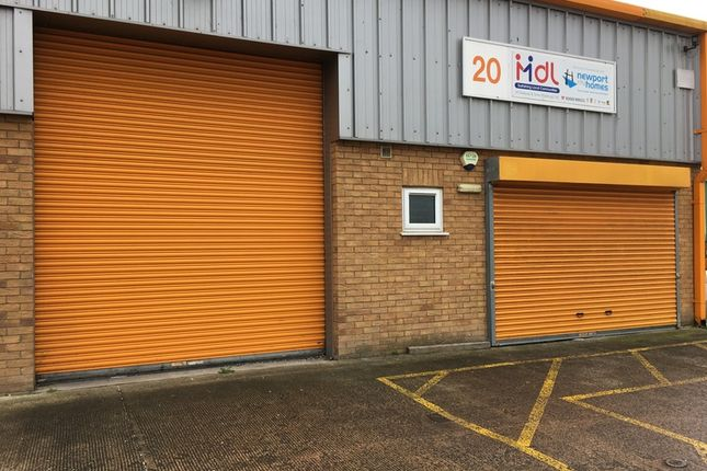 Thumbnail Industrial to let in Estuary Road, Queensway Meadows Industrial Estate, Newport
